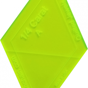 Bundle of 1/4 Caret Template (LQJ0)