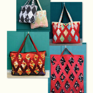 Bundle of Quilted Jewel Totes (QJ3)
